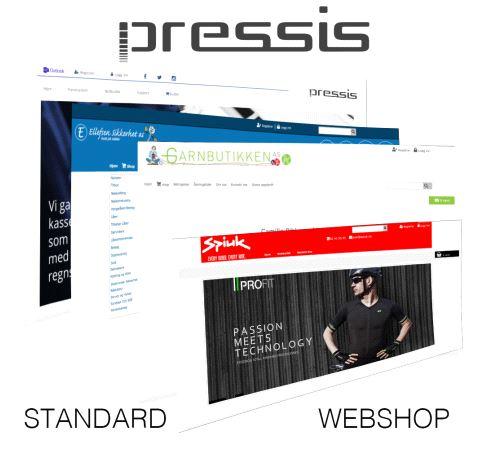 Pressis WebShop Standard