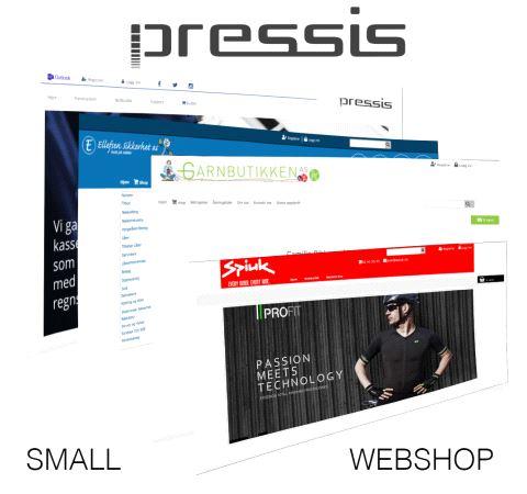 Pressis WebShop Small