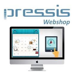 Pressis WebShop Booking