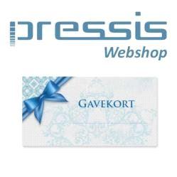 Pressis WebShop Gavekort