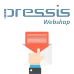 Pressis WebShop Nyhetsmail  (5000 mail pr mnd)