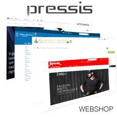 Pressis WebShop