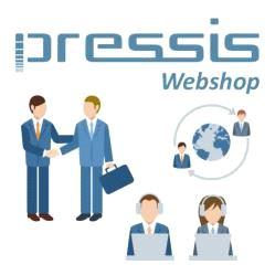 Pressis WebShop Forhandler med Googlemap